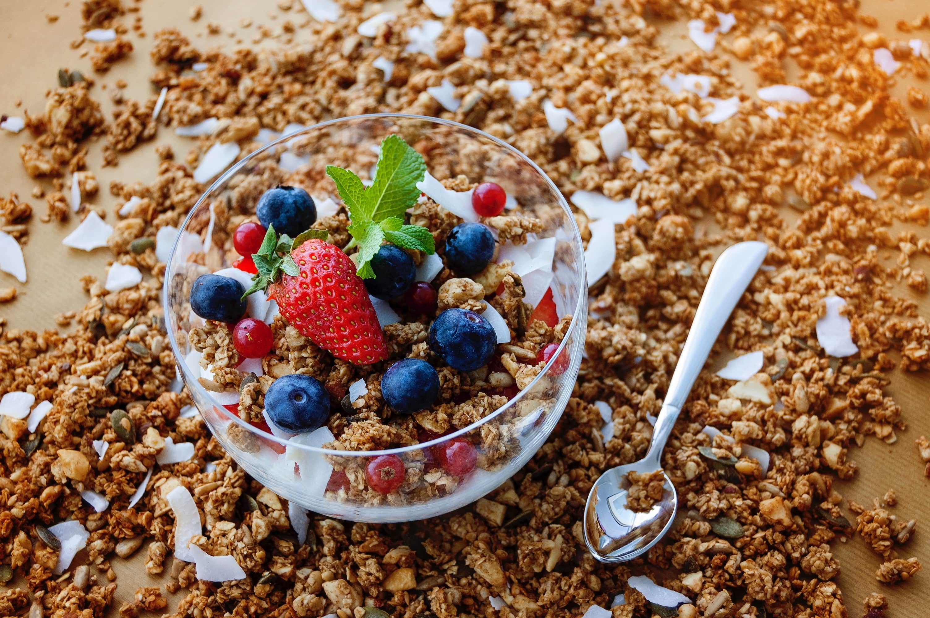 Granola has always been the healthy alternative to chocolate and a great healthy office snack