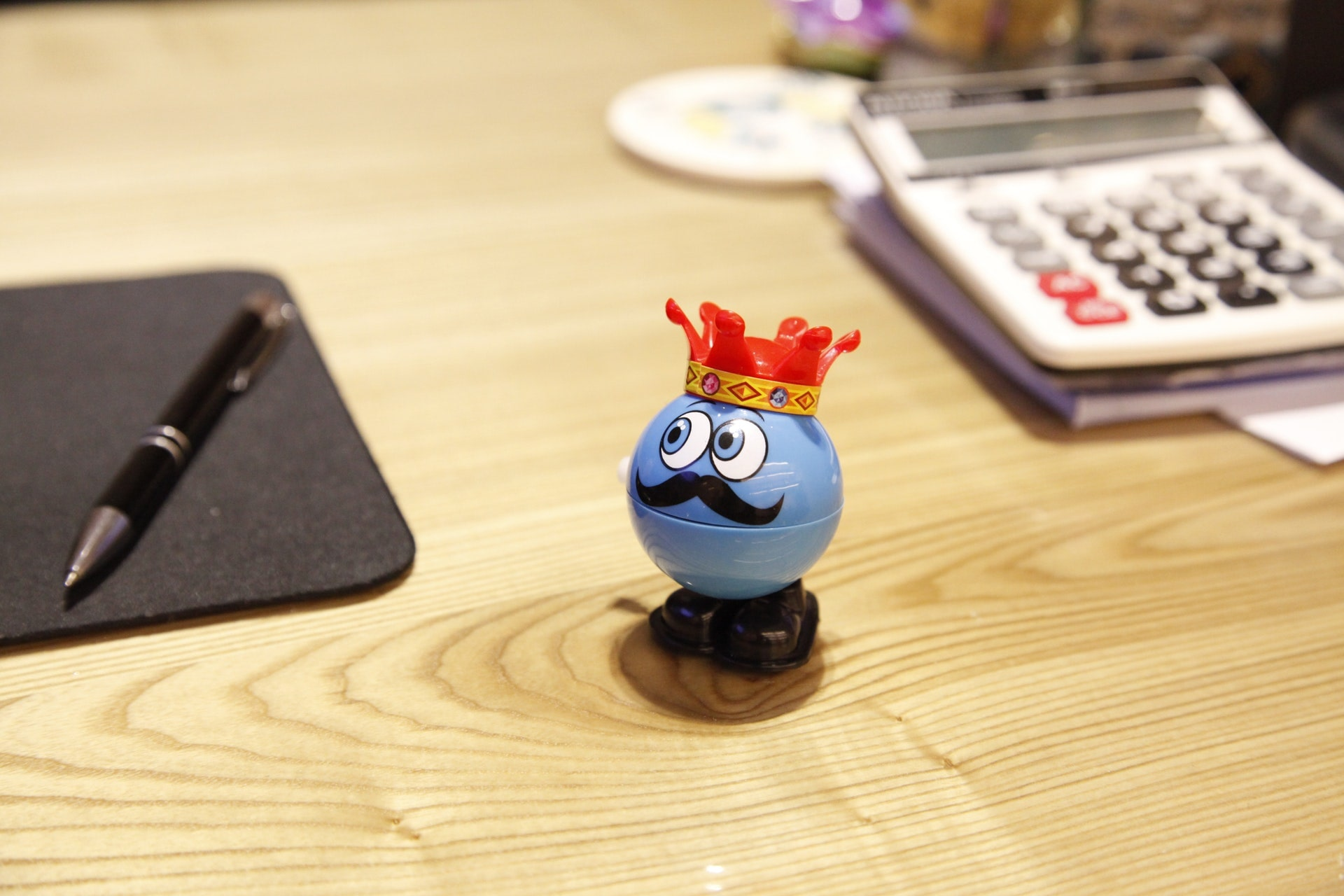Desk toys and accessories help keep workplace psychology happy