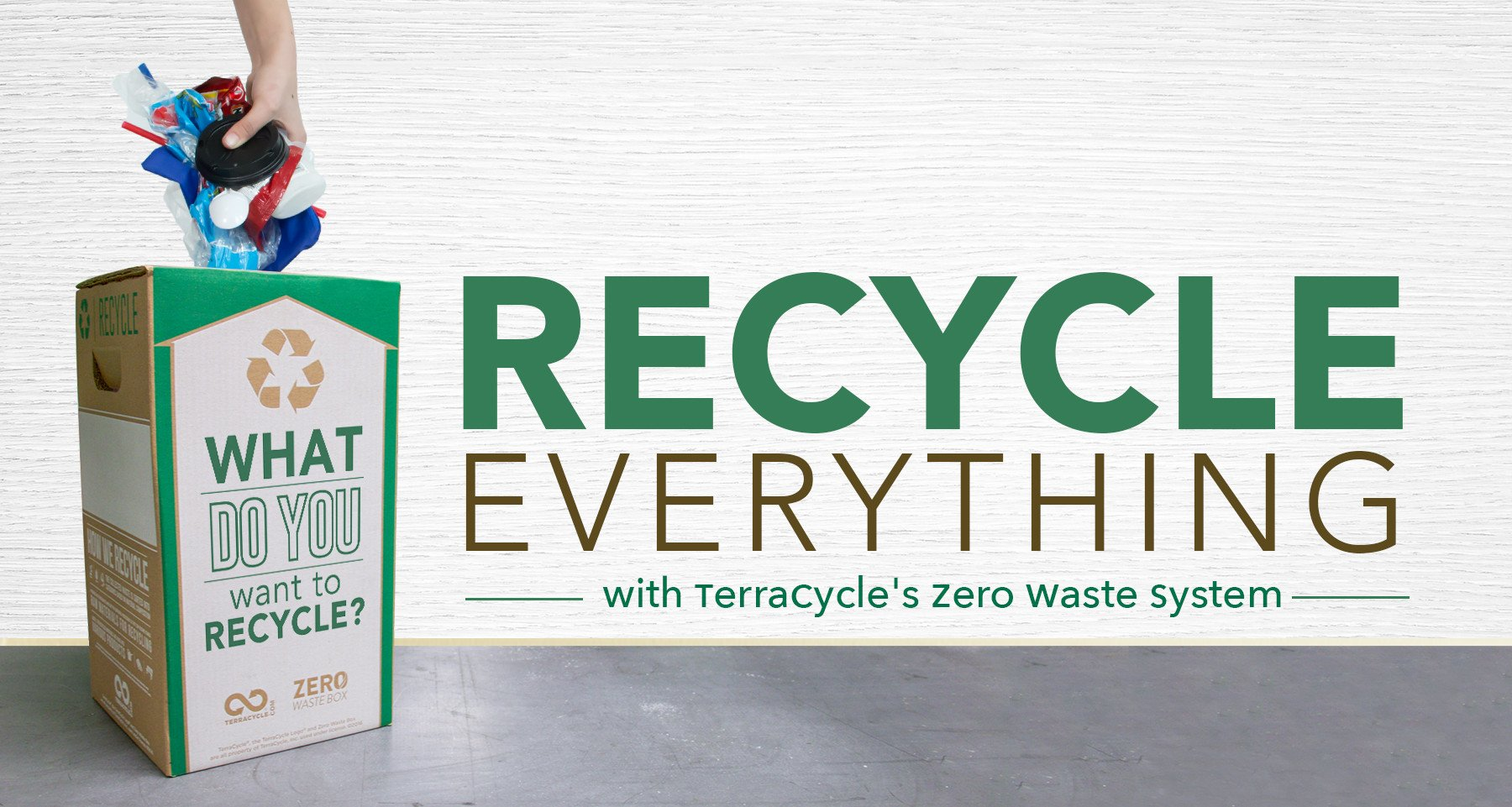 TerraCycle helps upcycle and reuse plastics from green offices