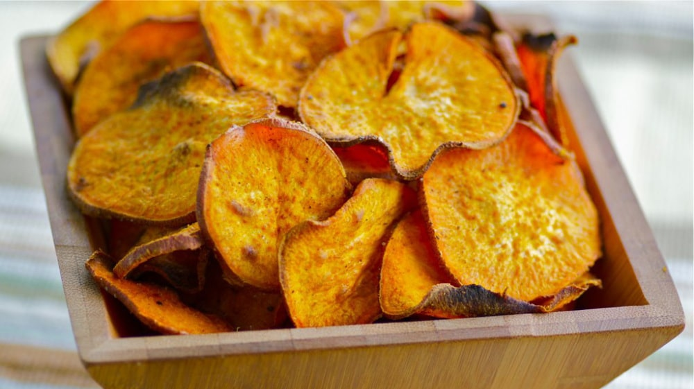 Tasty office veggie chips that you'll love