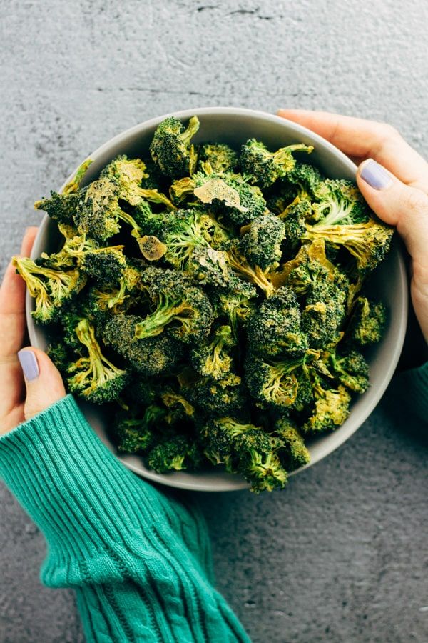 Broccoli veggie chips