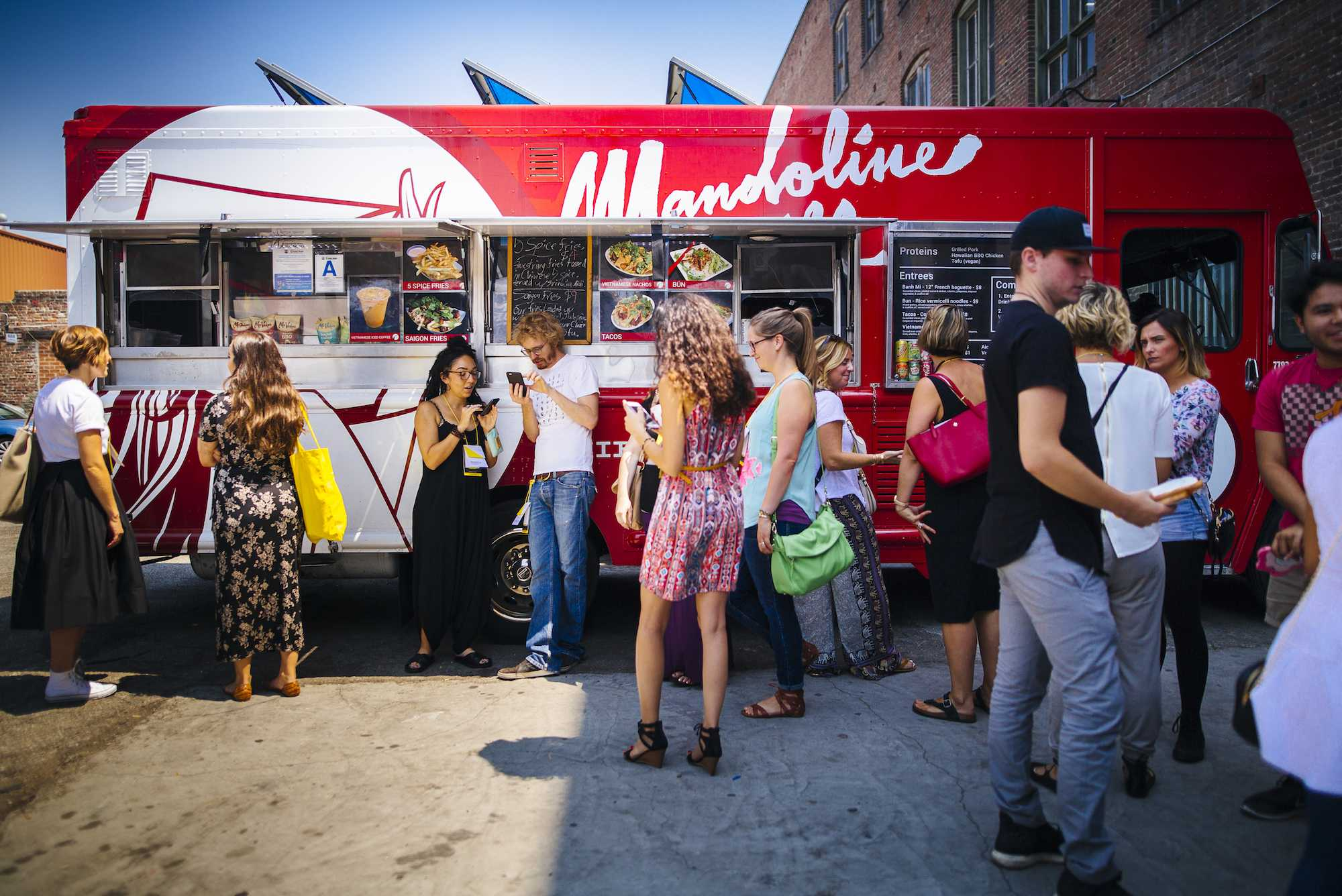 Food truck catering with Roaming Hunger is a delicious way to show employee appreciation!