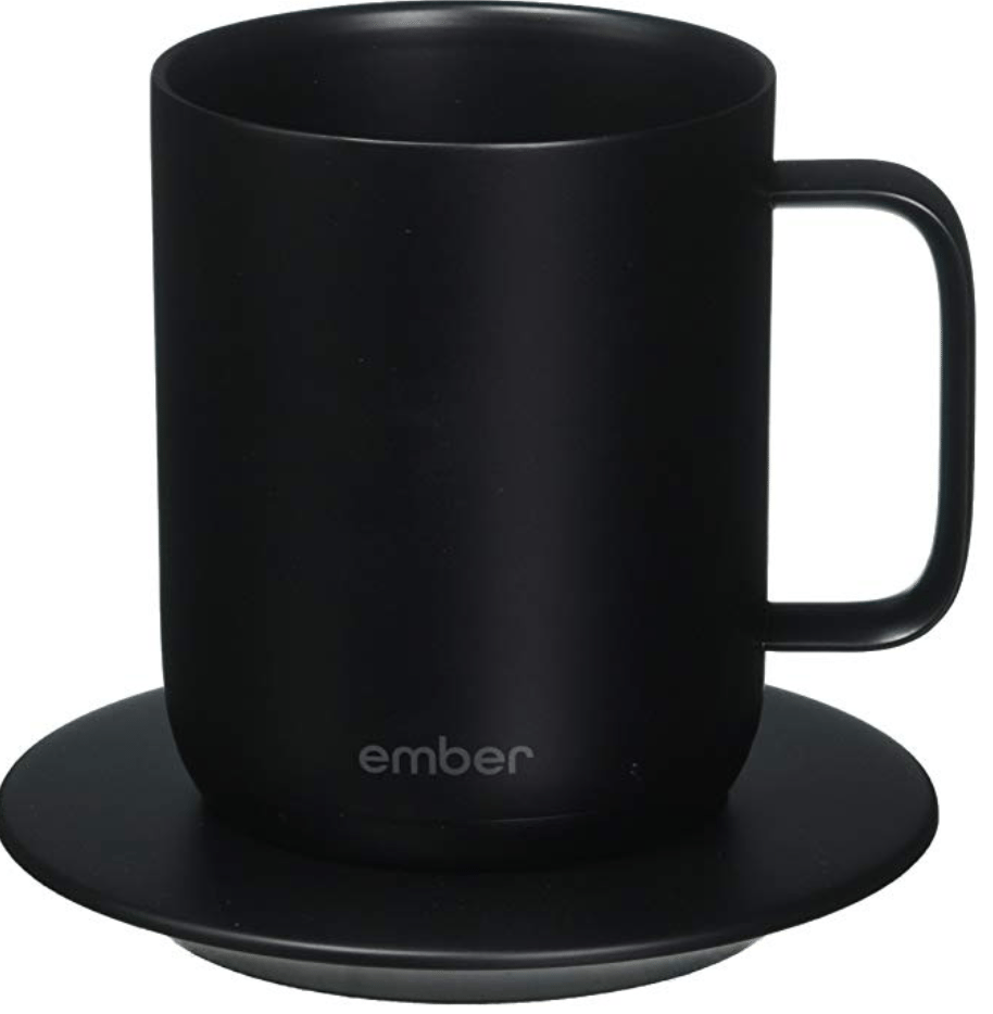 What?! This self warming mug is the office gadget I need in my life like right now!