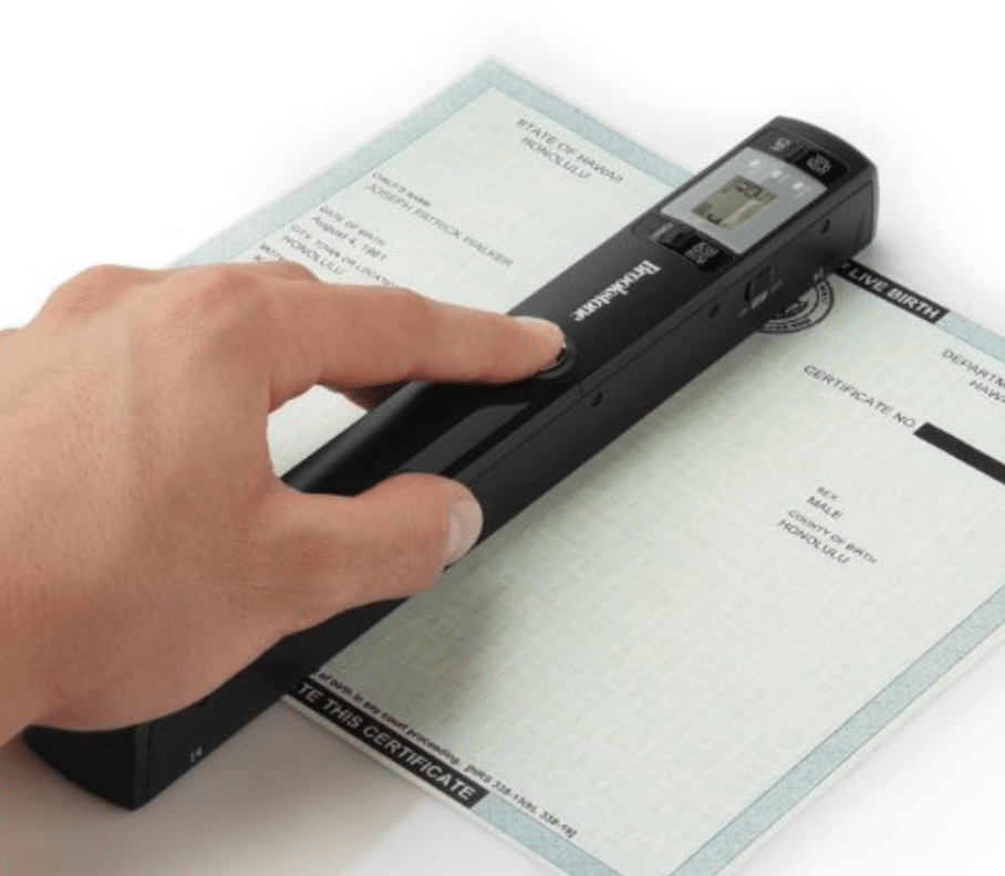 Yeah, so the future is here apparently? This lightweight scanner is the right office gadget for modern workplaces