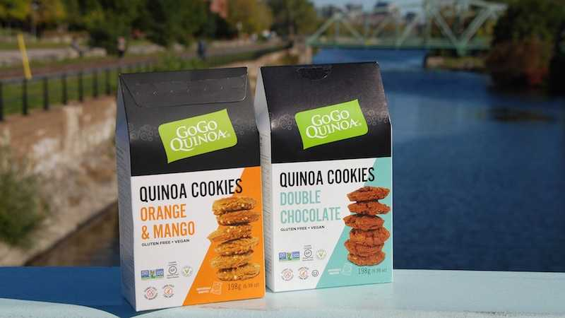 Get your chocolate fix with GOGO quinoa cookies, a rich vegan snack for your office.