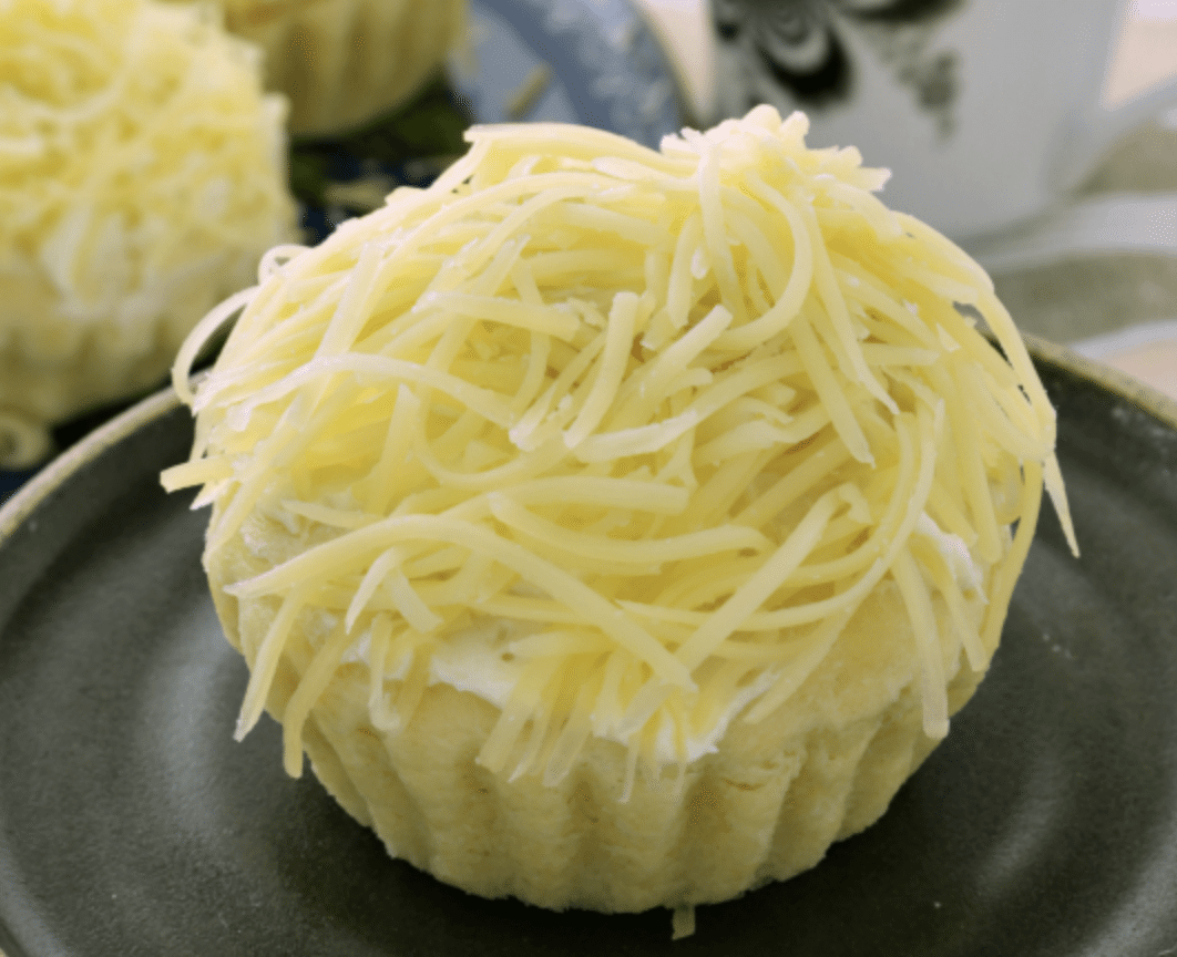 Try ensaymada, an international snack from the Phillipines that's sure to be a hit!