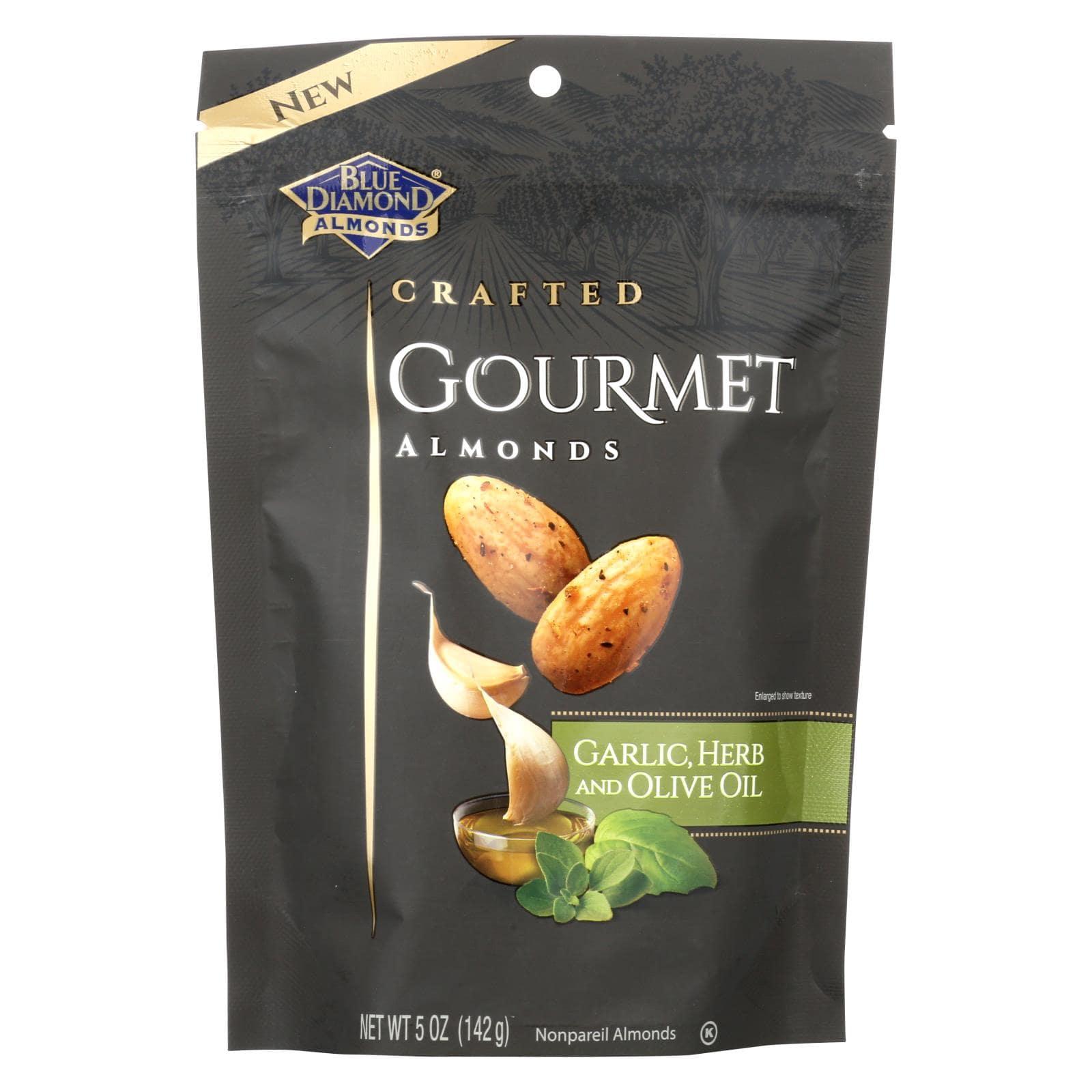 Blue Diamond Almonds - Garlic Herb & Olive Oil
