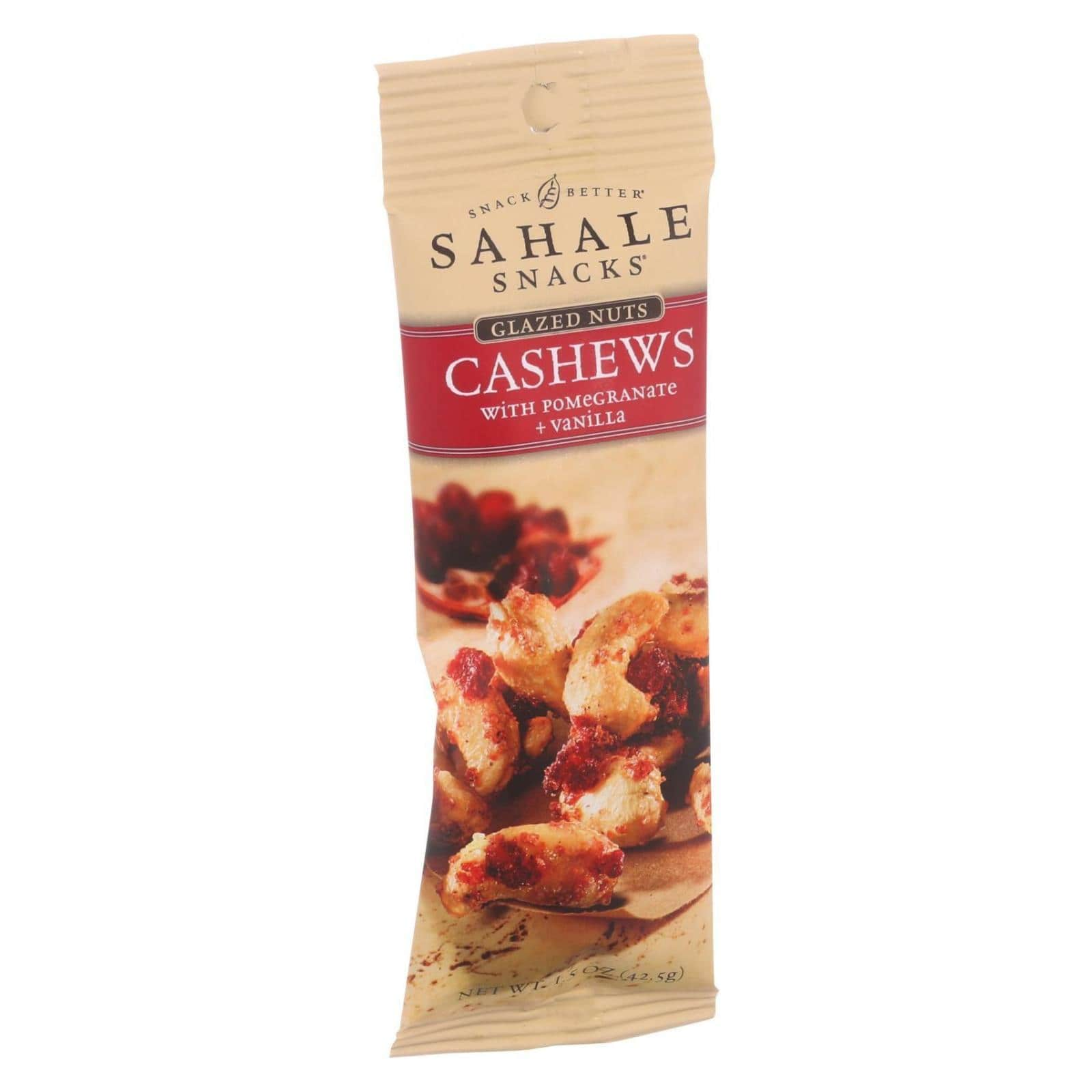 Sahale Pomegranate Vanilla Cashews