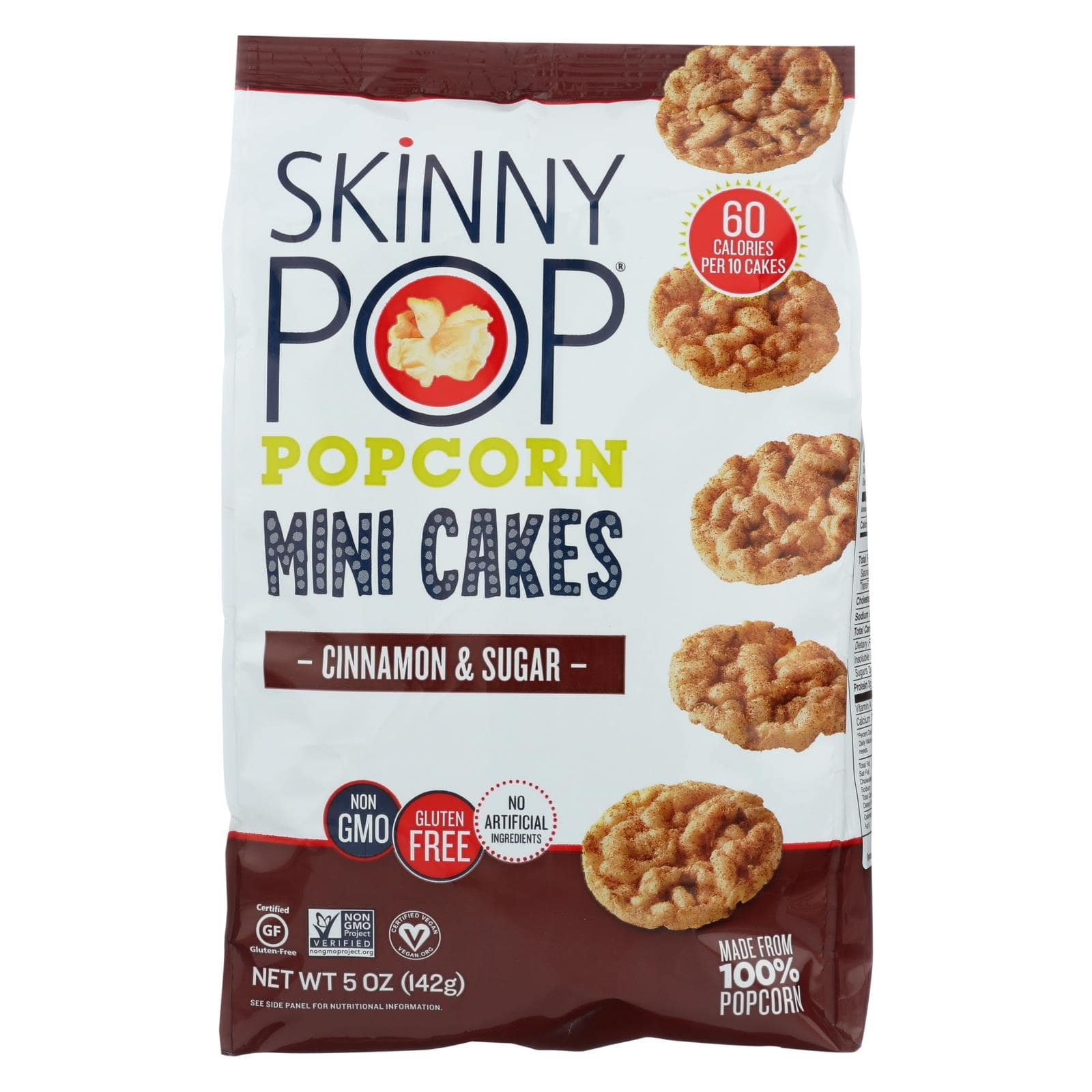 Skinny Pop Mini Cakes