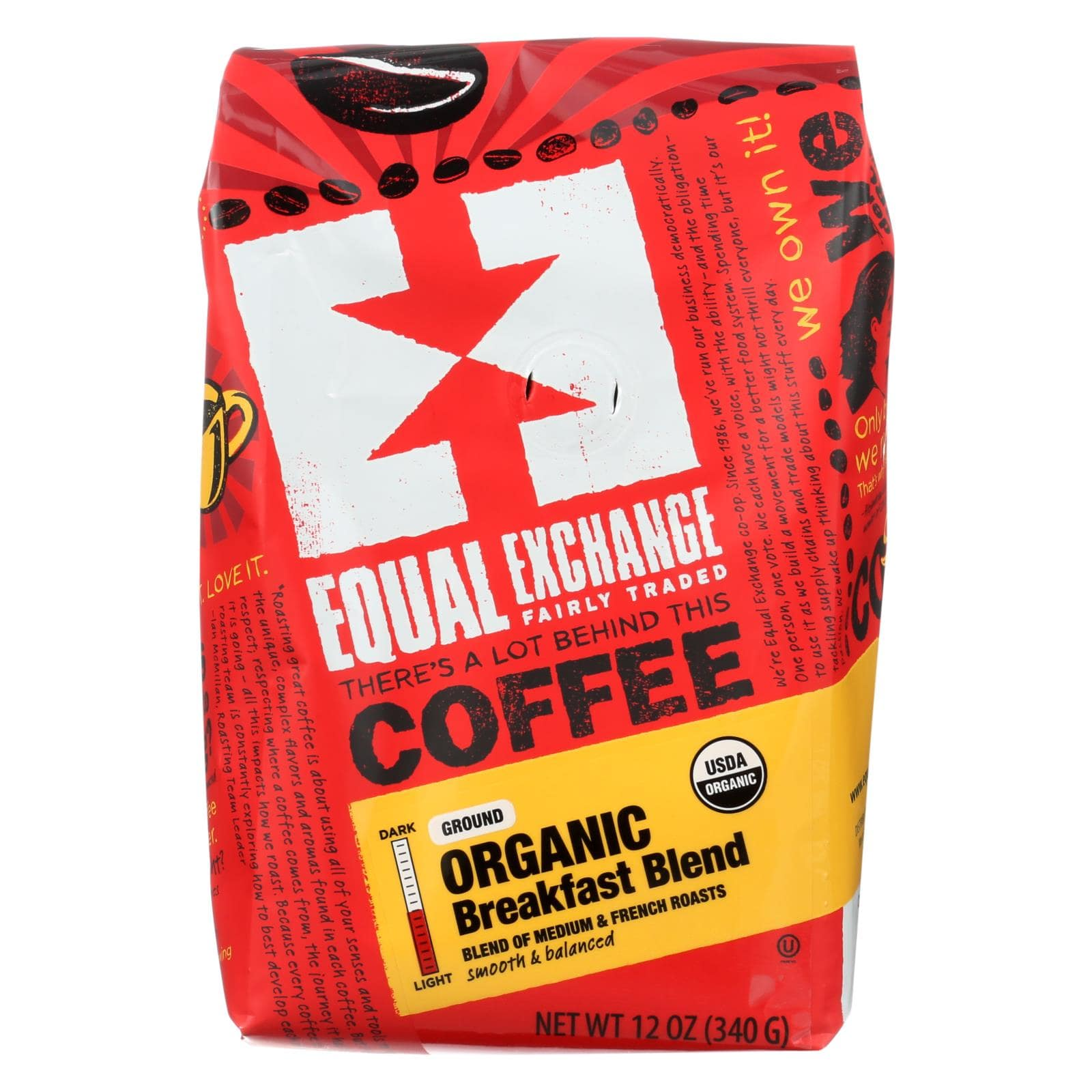 Equal Exchange Coffee - Breakfast Blend