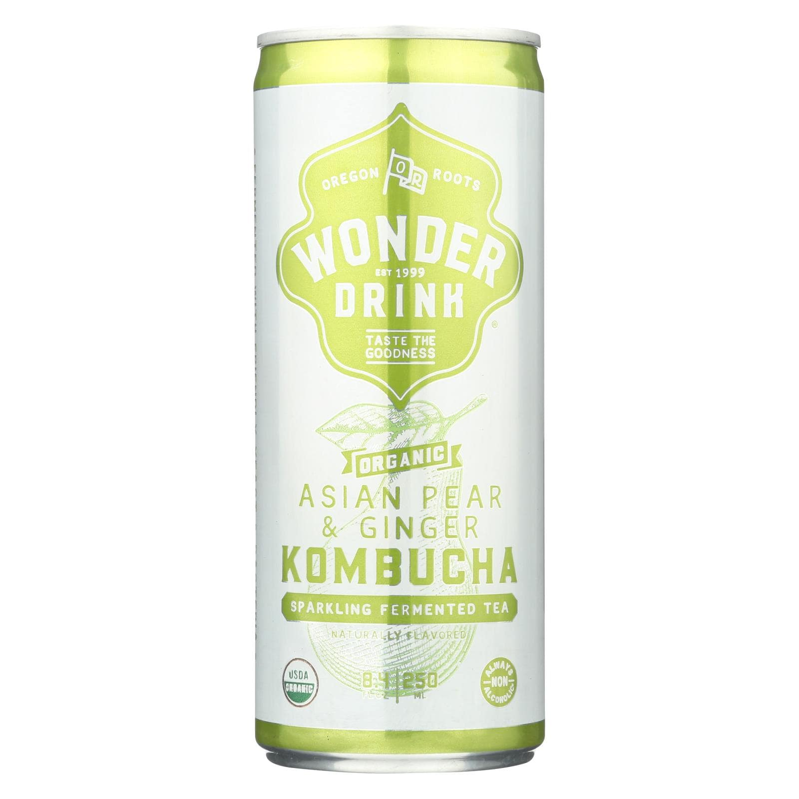 Kombucha Wonder Drink - Asian Pear Ginger