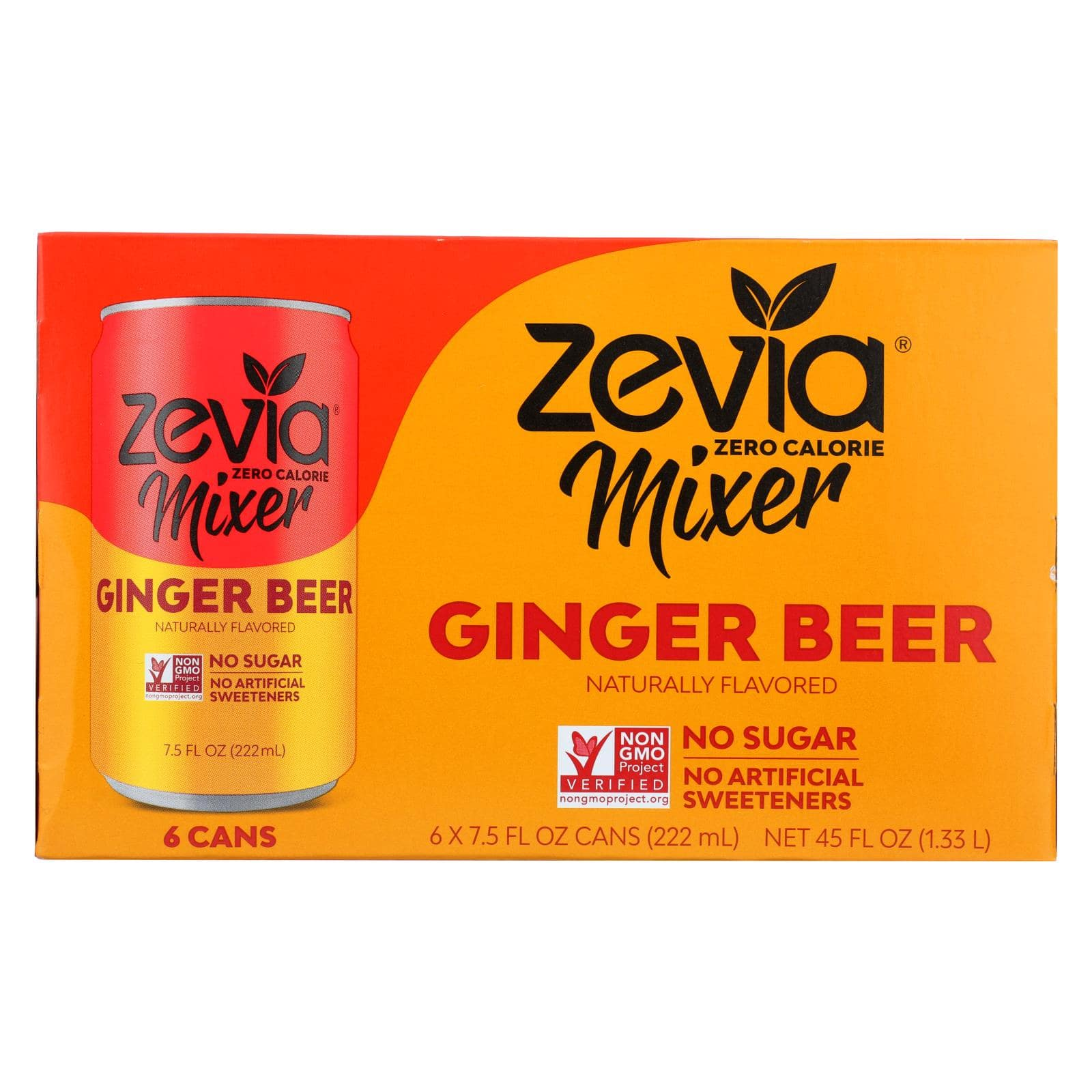 Zevia Ginger Beer