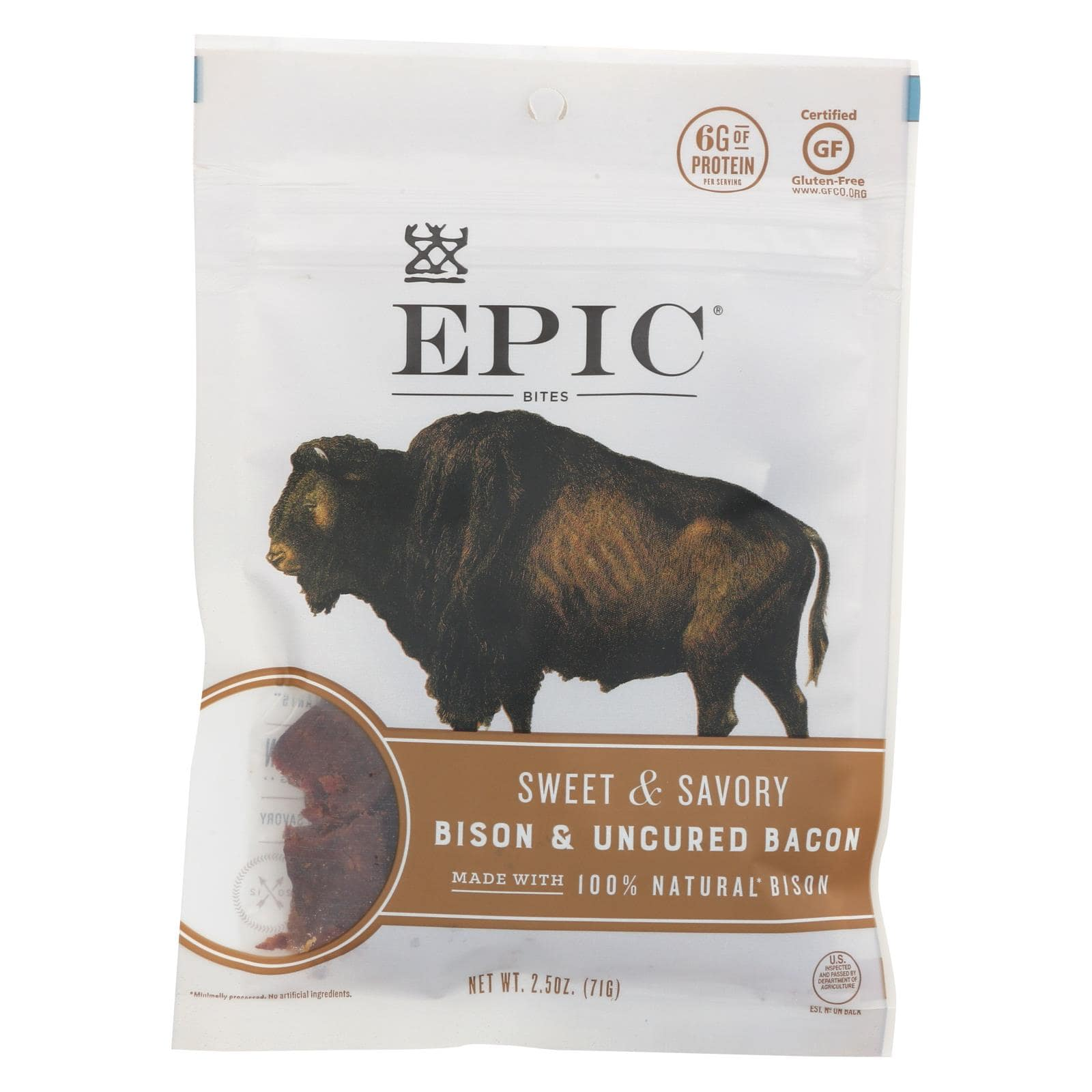 Epic Jerky Bison Meat