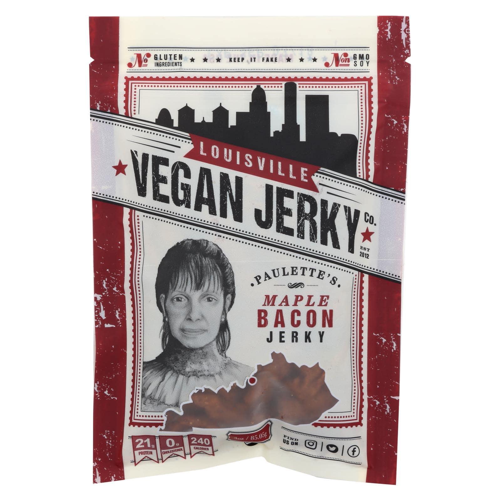 Louisville Vegan Jerky - Maple Bacon