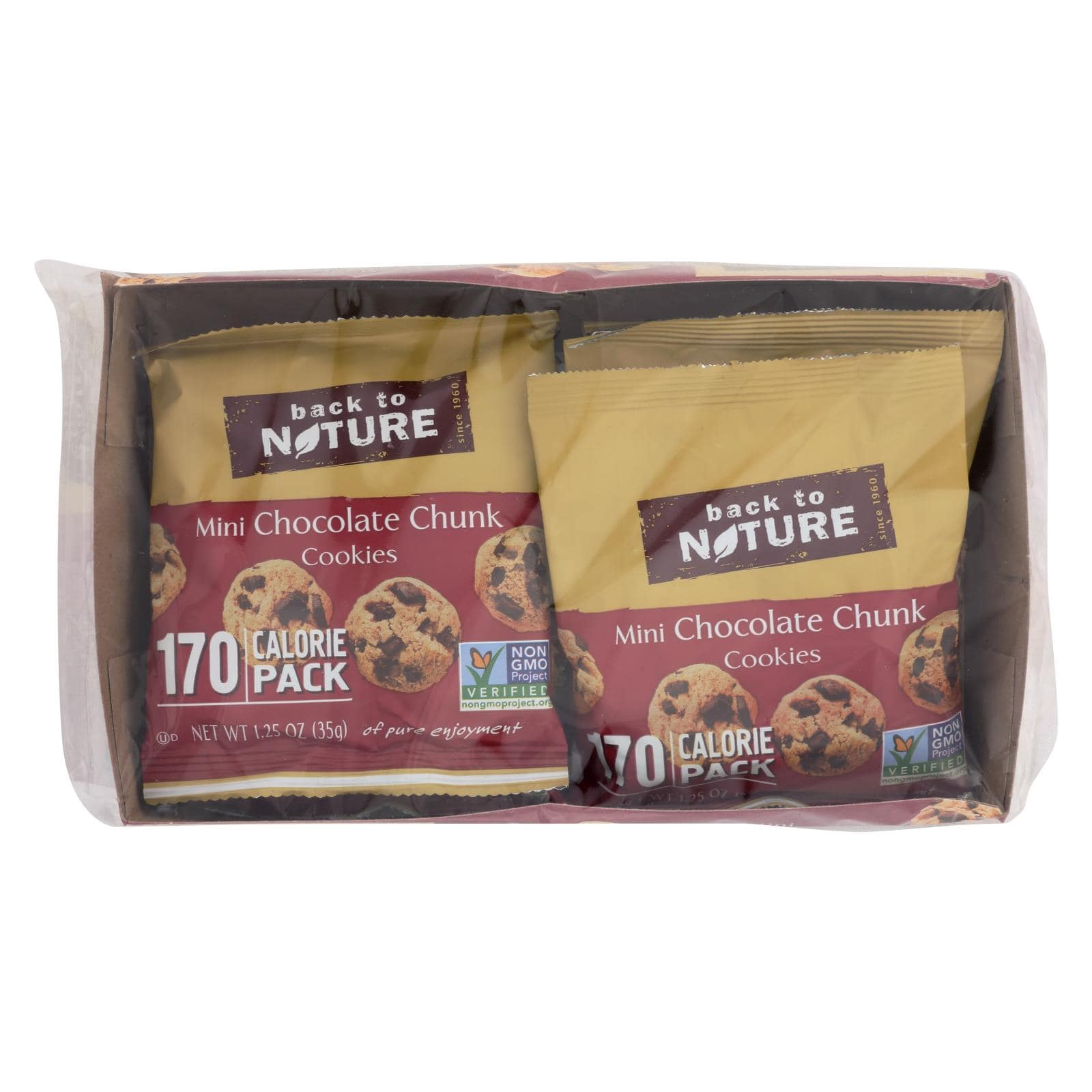 Back to Nature Cookies - Mini Chocolate Chunk