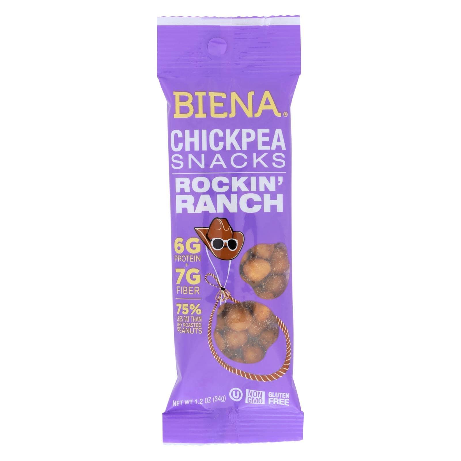 Biena Chickpea Snacks - Rockin' Ranch