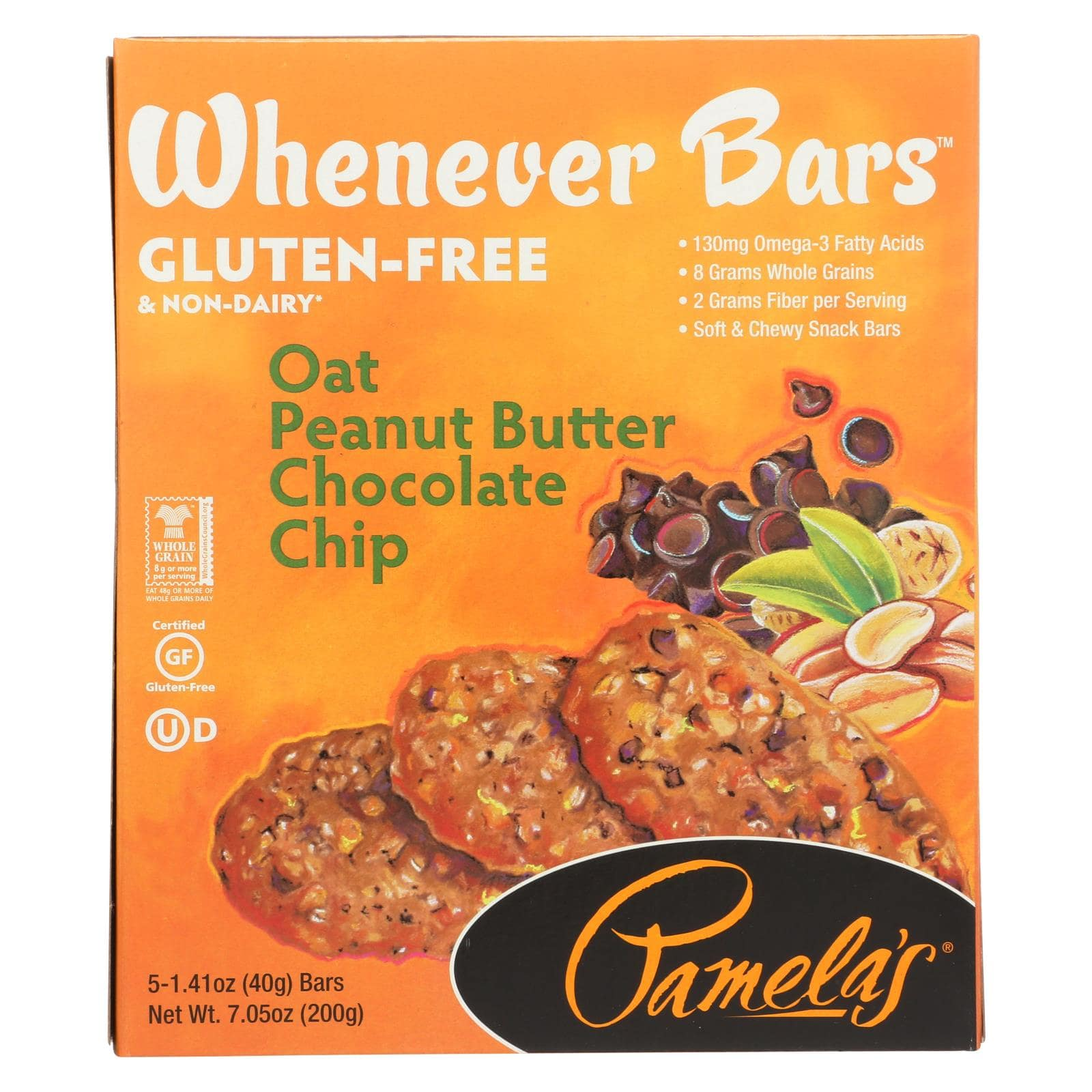 Whenever Bars - Peanut Butter Chocolate Chip