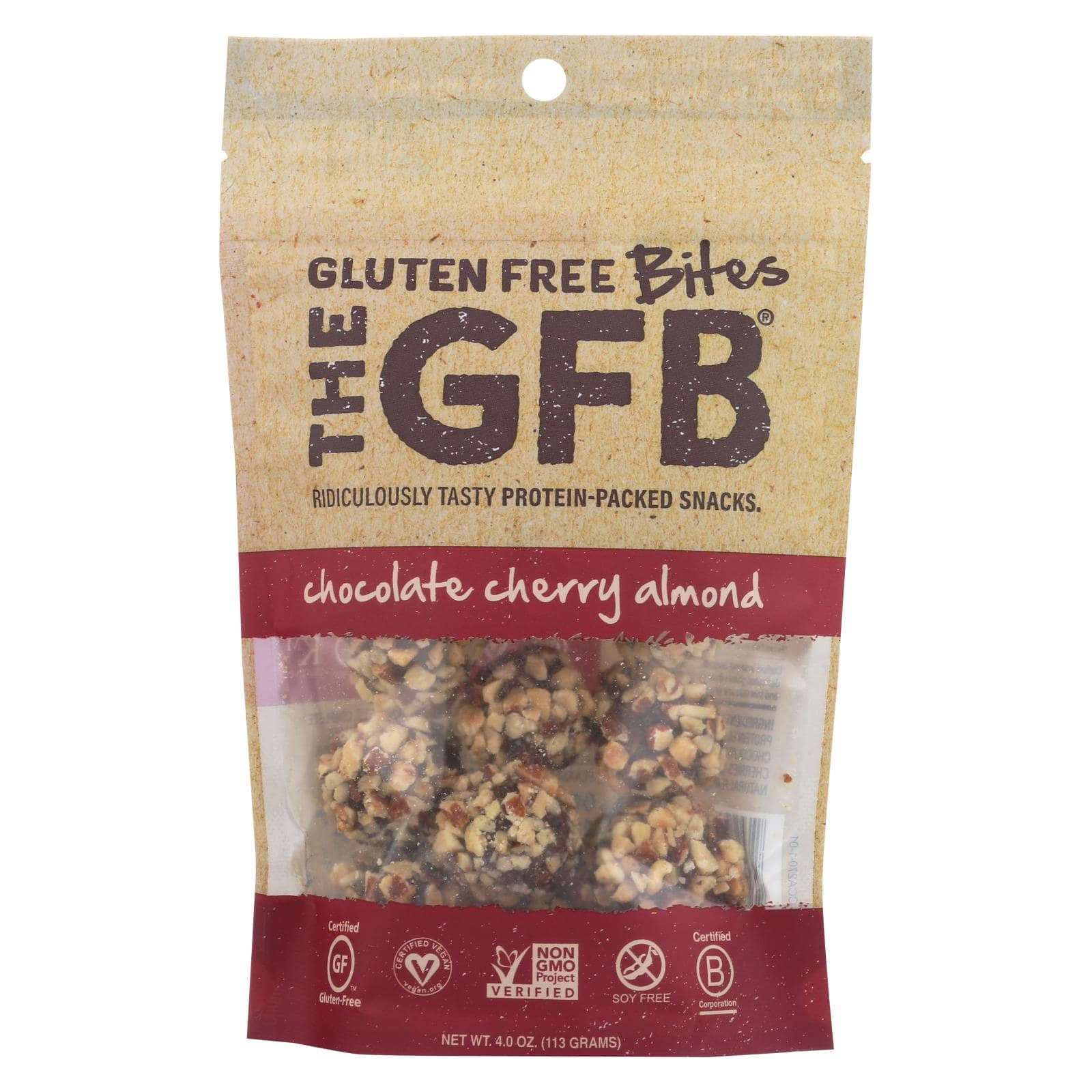 The GFB Gluten Free Bites - Chocolate Cherry Almond