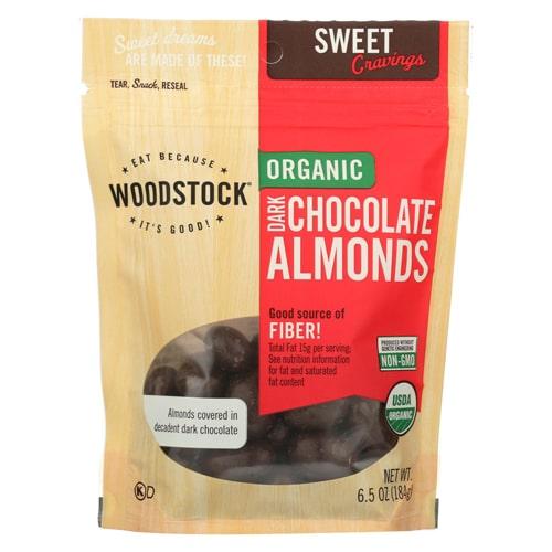 Woodstock Dark Chocolate Almonds