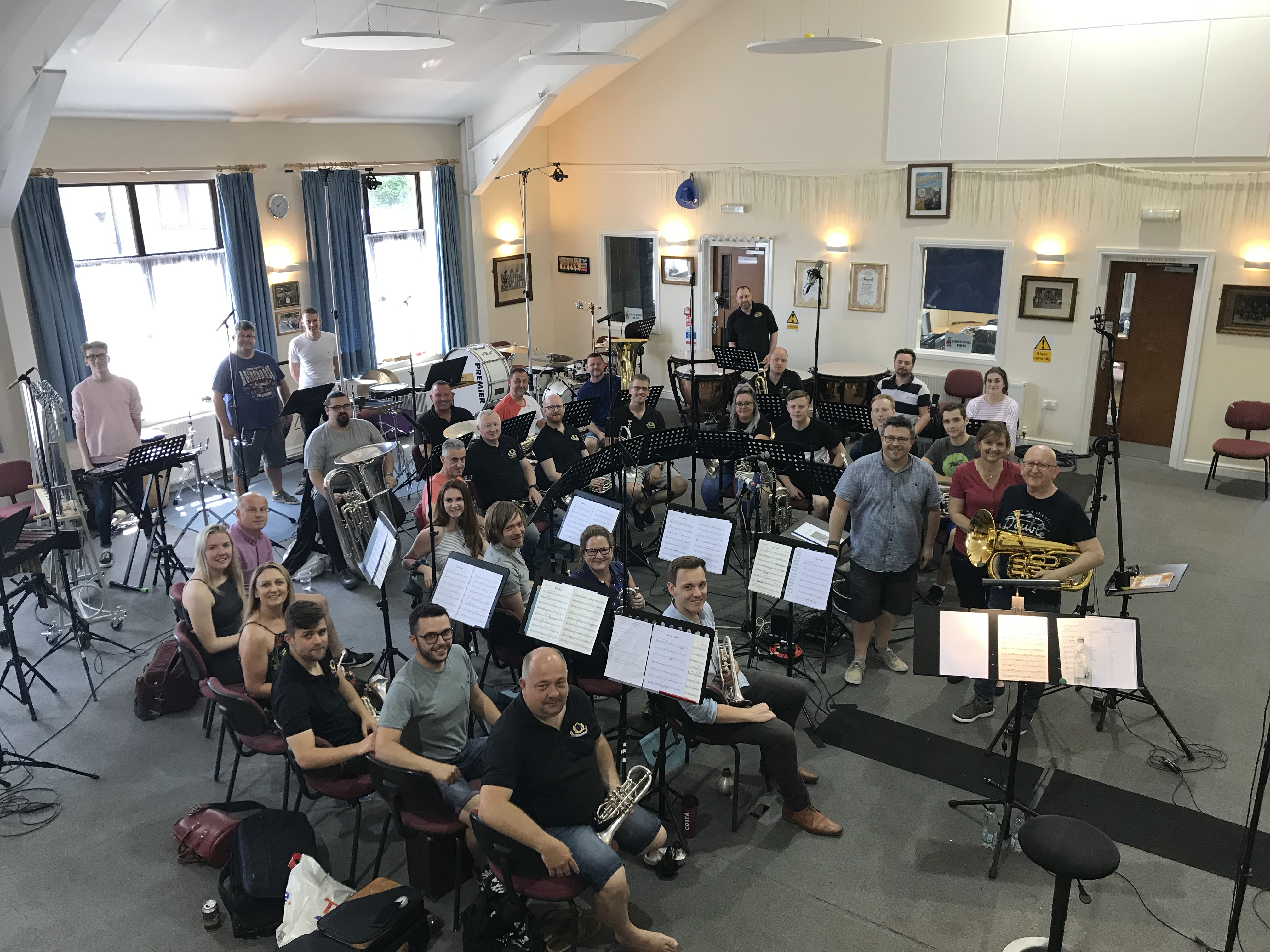 Robin, Robin (recording), Steven Mead, Brighouse and Rastrick Band, David Thornton, 30 June 2019