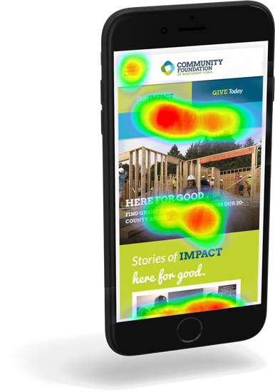 Portfolio sample - CFNEIA Heatmap Mobile
