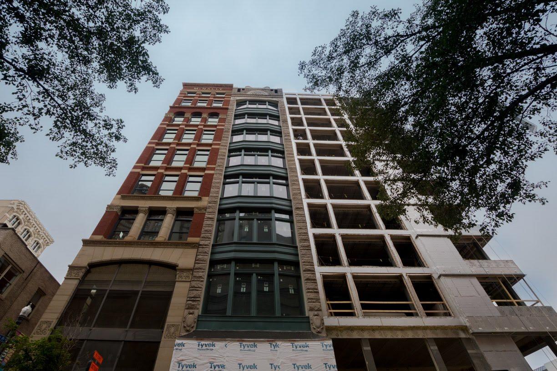 Eighth & Penn Facade