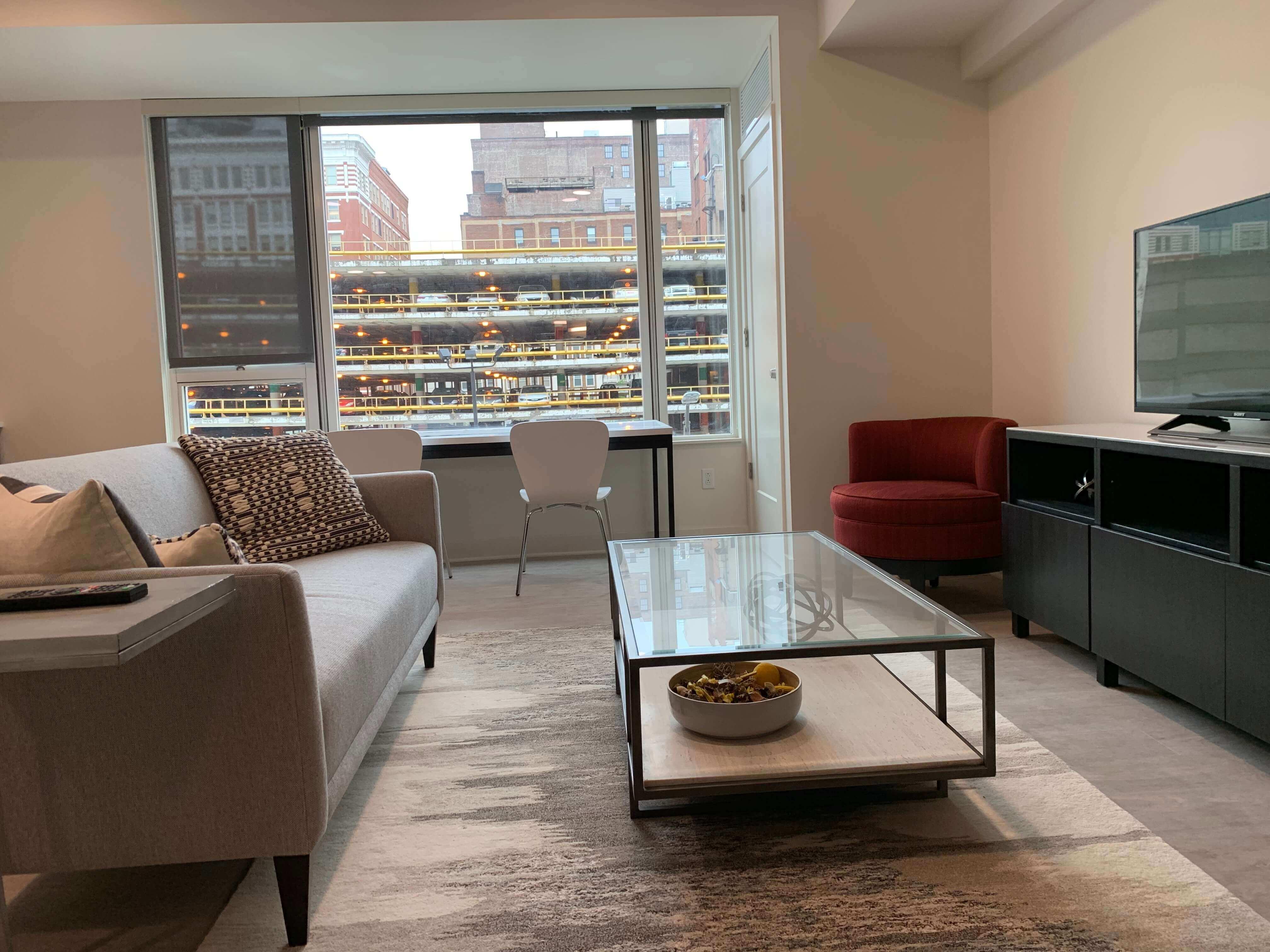 Eighth & Penn living space