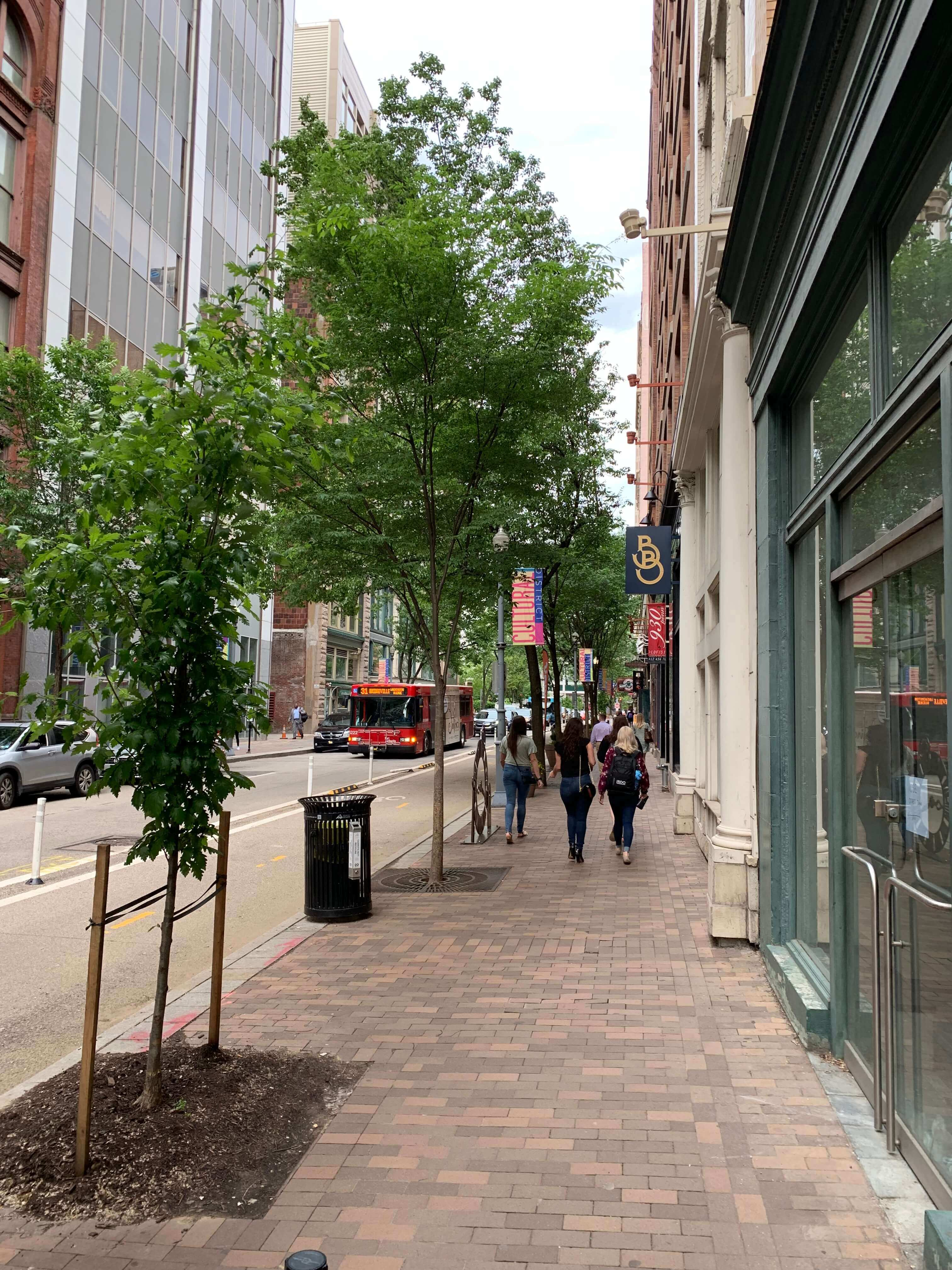 Eighth & Penn street view