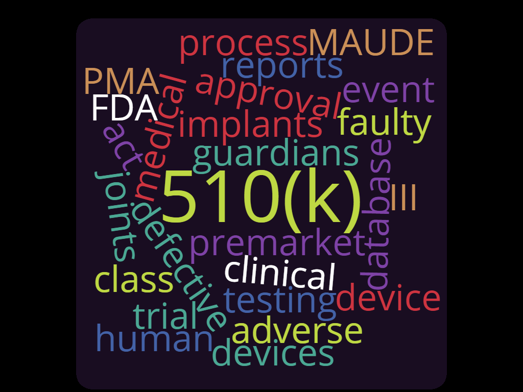 The FDA medical device approval process
