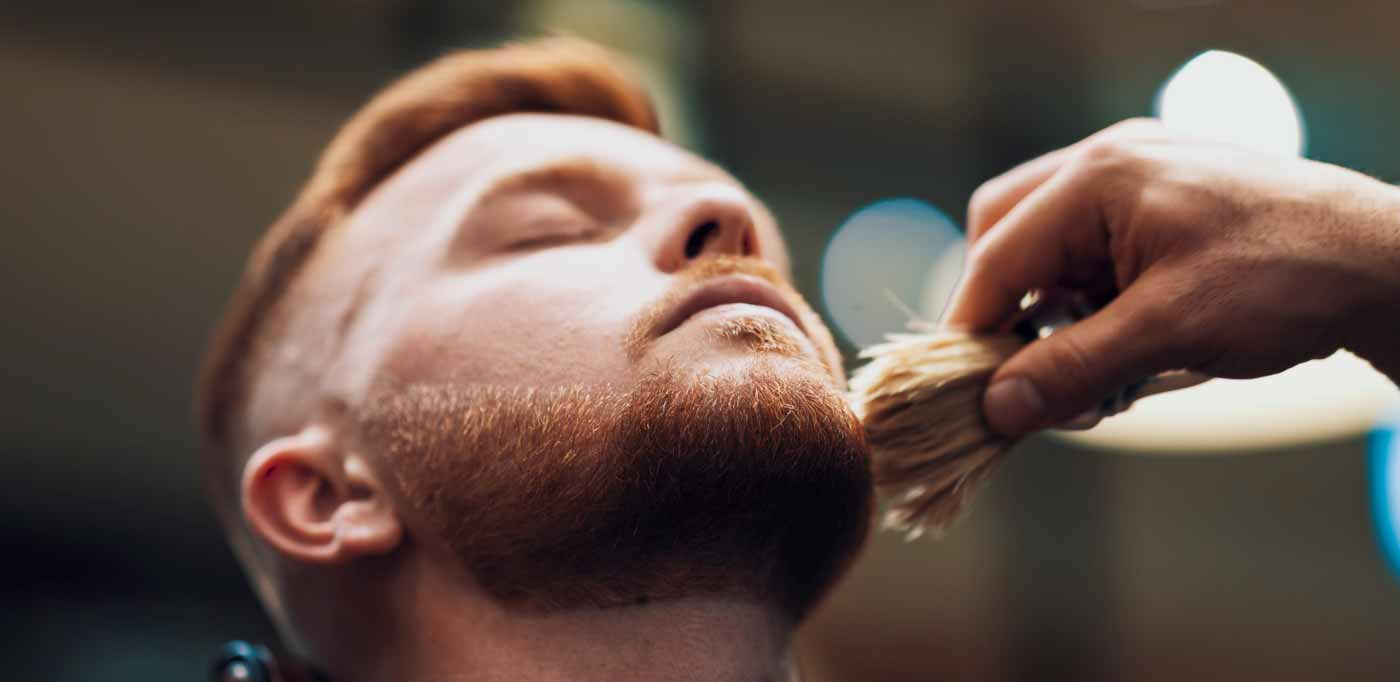 The Shaving Process - Shaving Brush