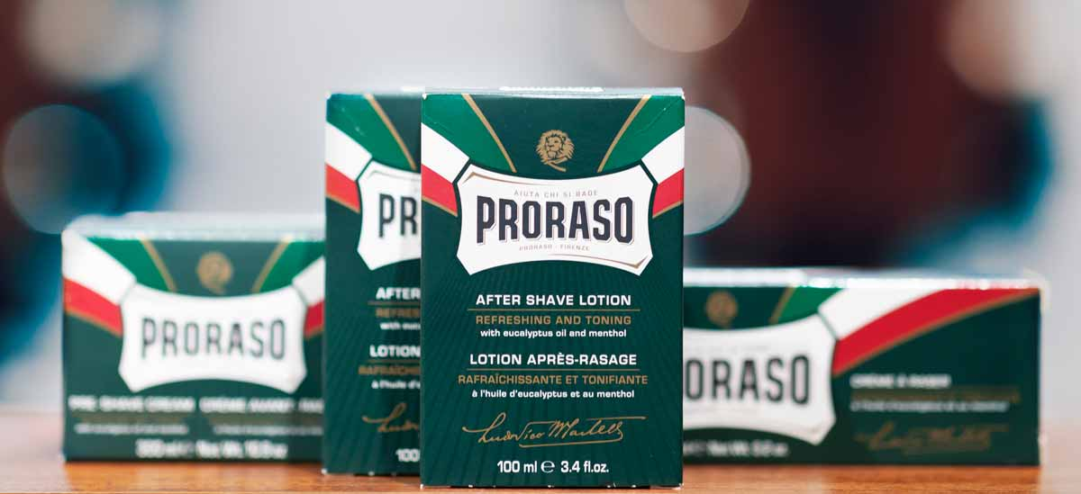 Proraso Products in the Barbershop