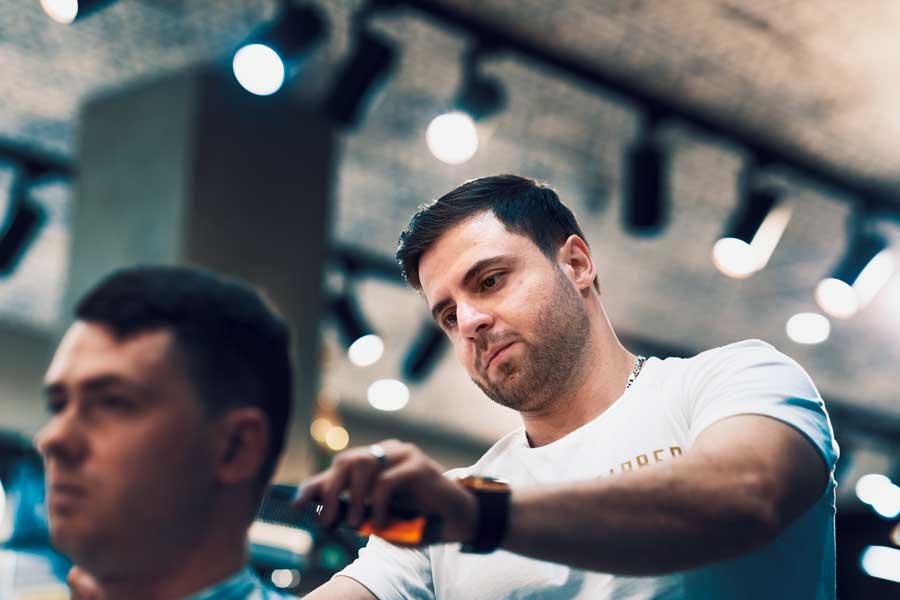 Meet The Barber - Matt At Barber Industries Charlestown