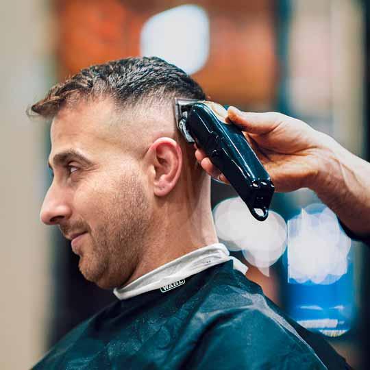 Barber Working In Parramatta Barbershop