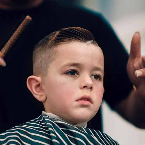 Customer in Barbershop in Wollongong NSW