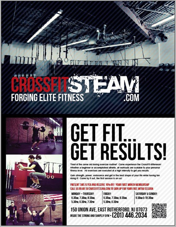 CrossFit Gym Flier
