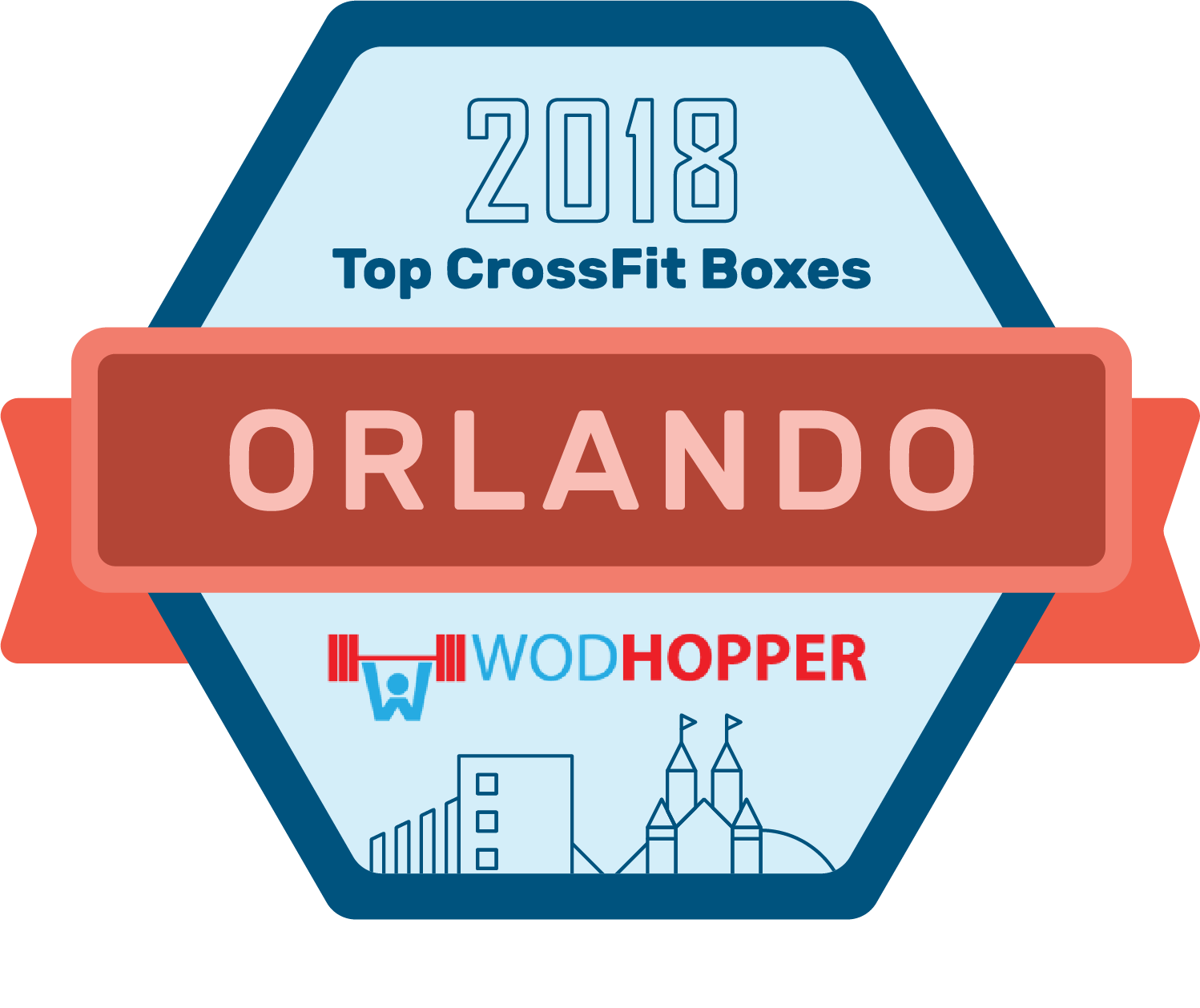 Orlando CrossFit Best Of Badge
