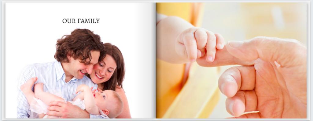 MimeoPhotos family photobook