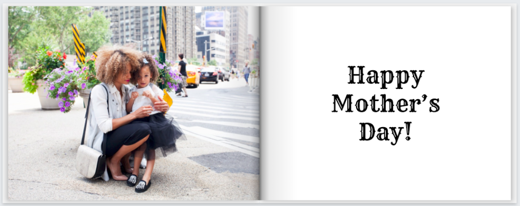 MimeoPhotos Mothers Day PhotoBook