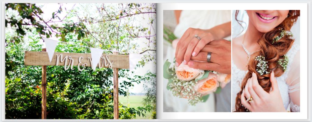 MimeoPhotos Wedding Photobook