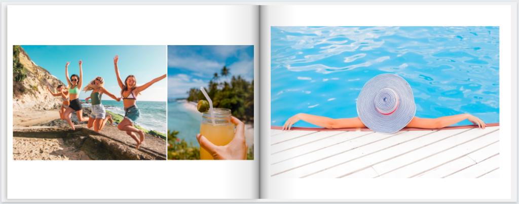 MimeoPhotos Vacation Photobook