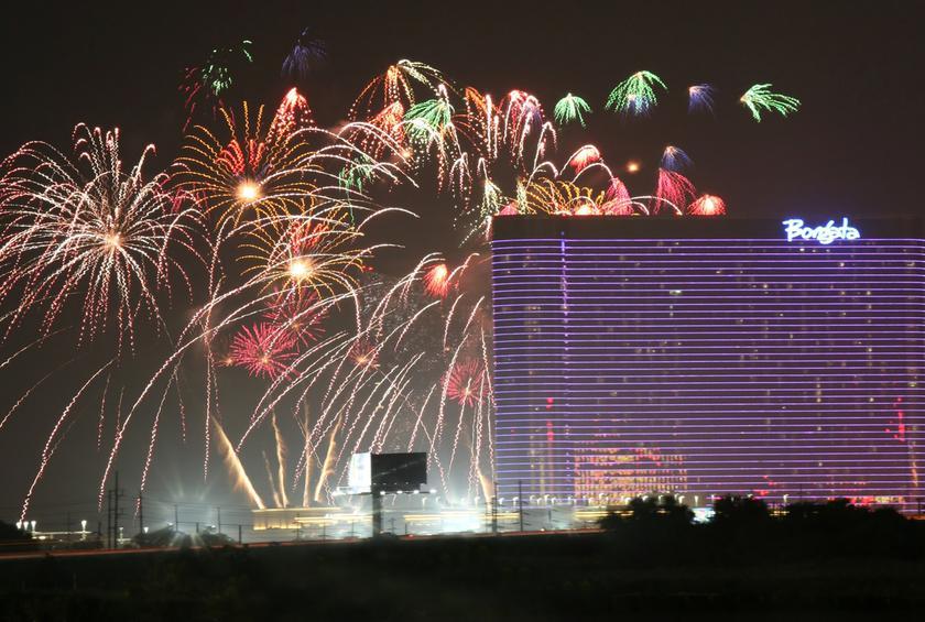 DO AC July 4th fireworks show