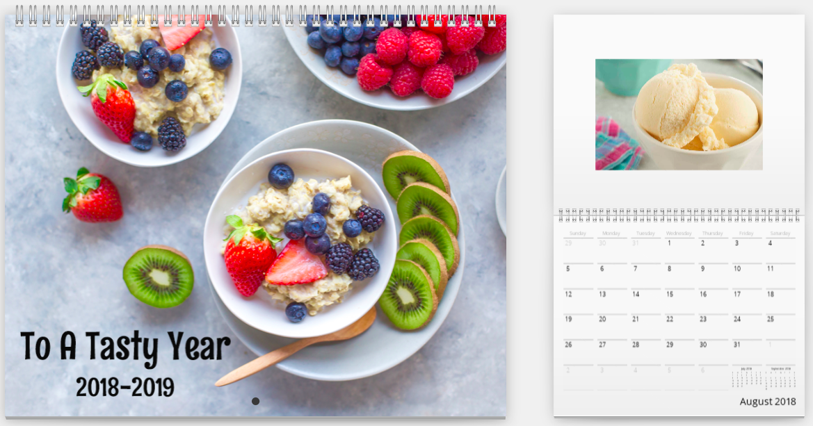 Mimeo Photos Food Calendar