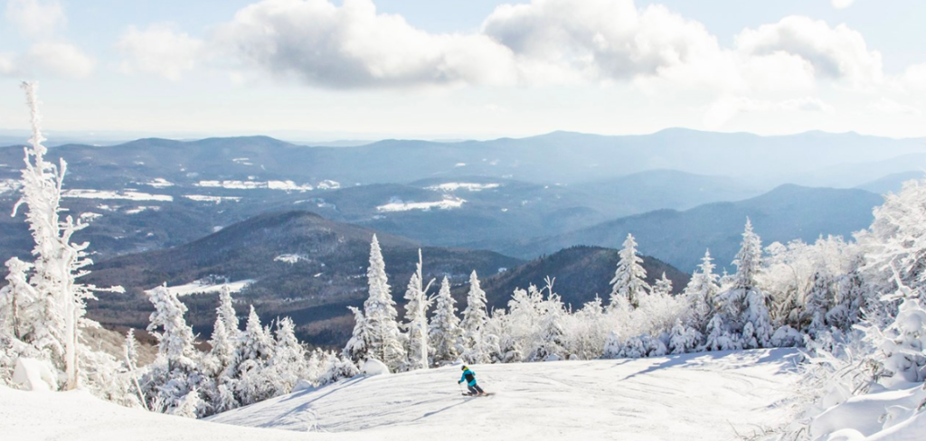 Sugarbush resort is a popular ski destination