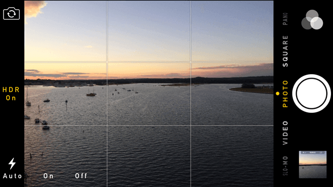 Enable grid lines on your iPhone for better composition