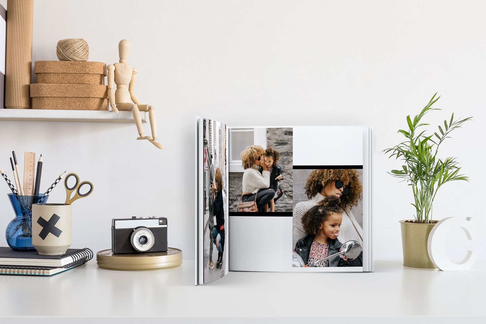 Use your own memories as a creative way to display photos