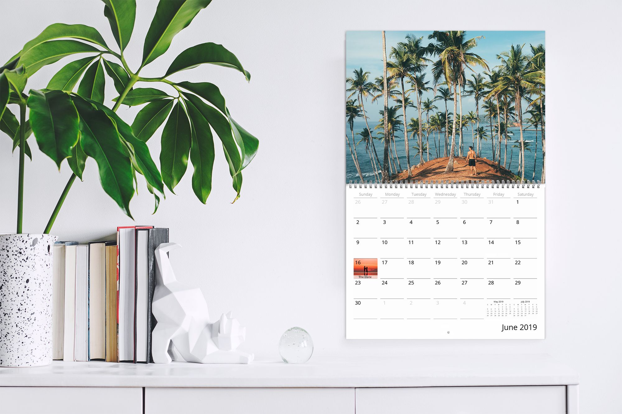 Calendars are a creative way to display your photos