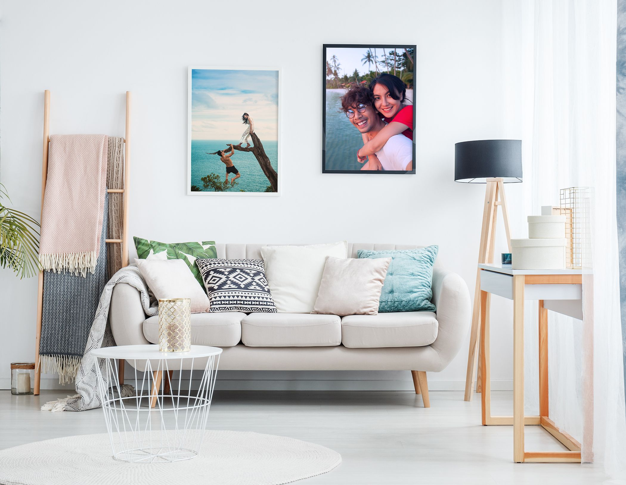 A large format picture is the a romantic gift idea perfect for your home