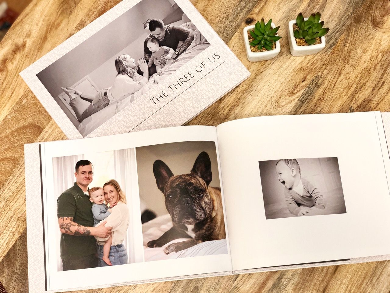 Gift the grandparents with an updated family photo album showing your love and gratitude