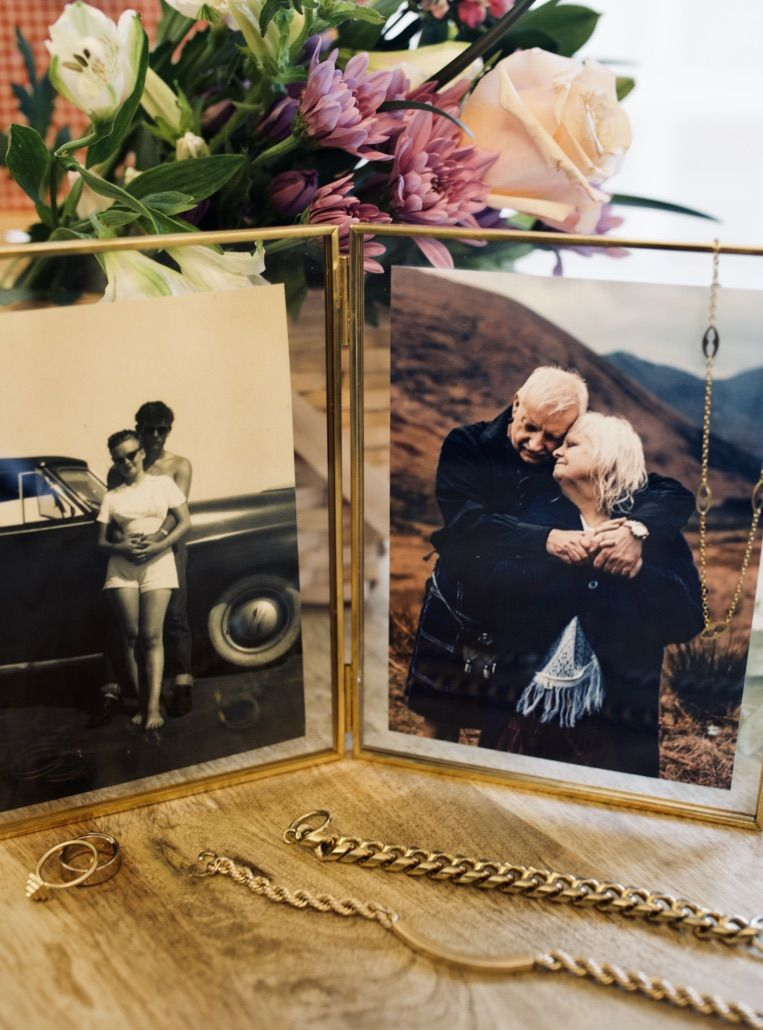 Celebrate Valentine's Day with your one and only with a set of romantic now and then photo prints