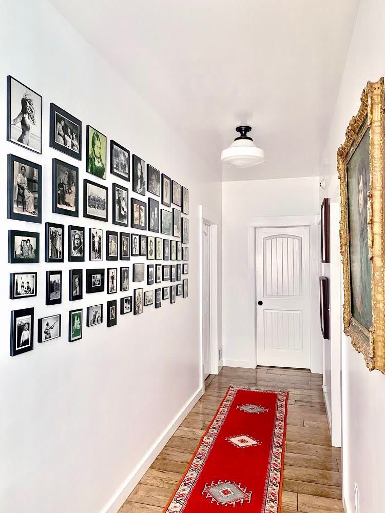 Honor the places and the people that brought you to today with a gallery wall